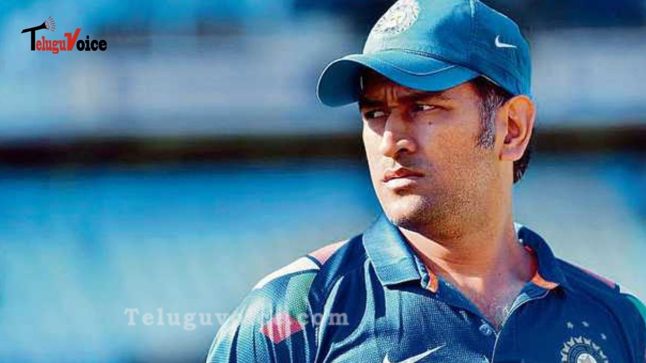 Dhoni Impressed Fans With His New Singam Look teluguvoice