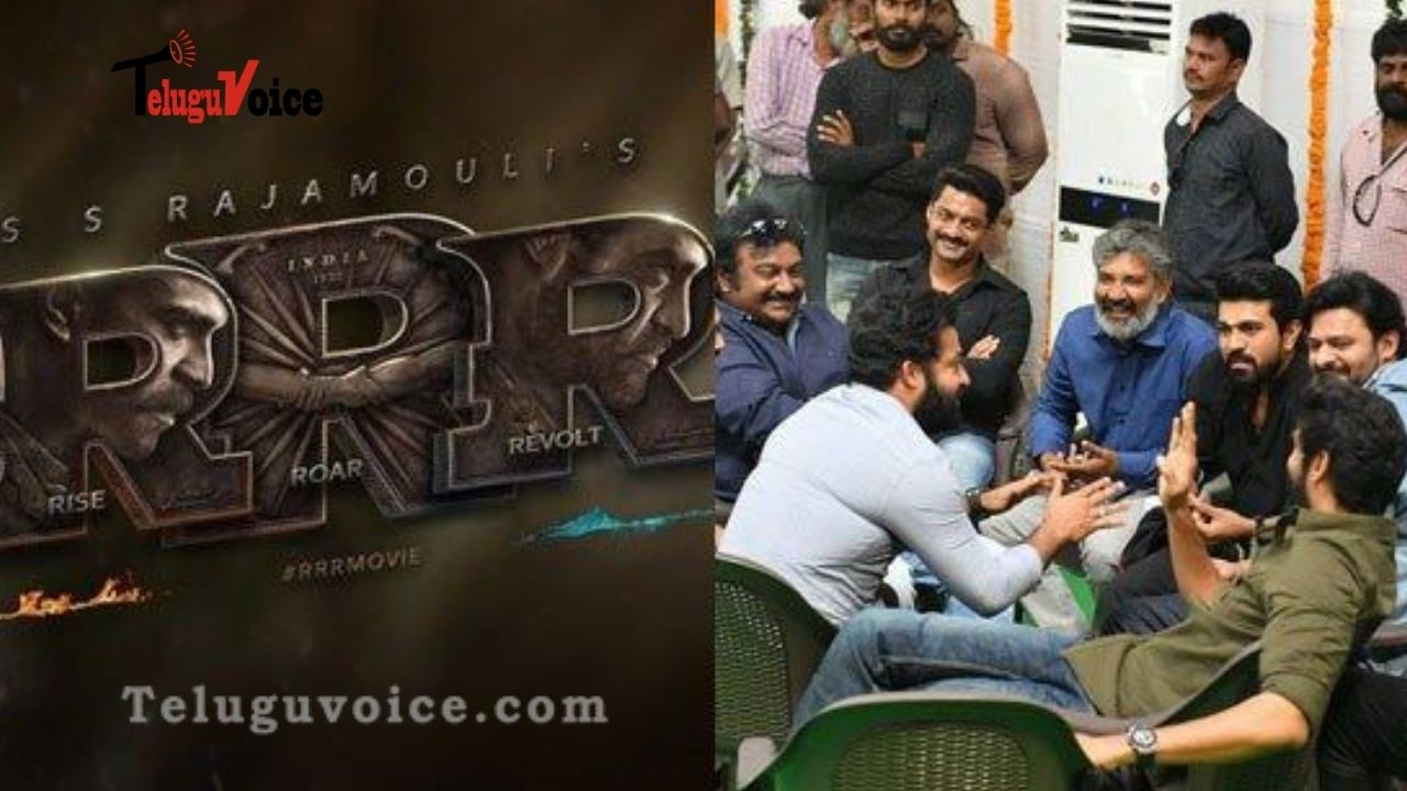 RRR Music Work On Hold teluguvoice