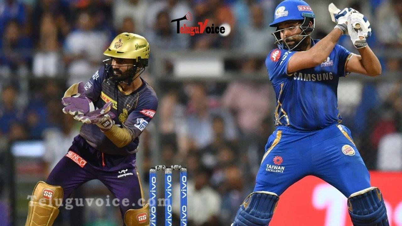 IPL Match 5: KKR vs MI teluguvoice