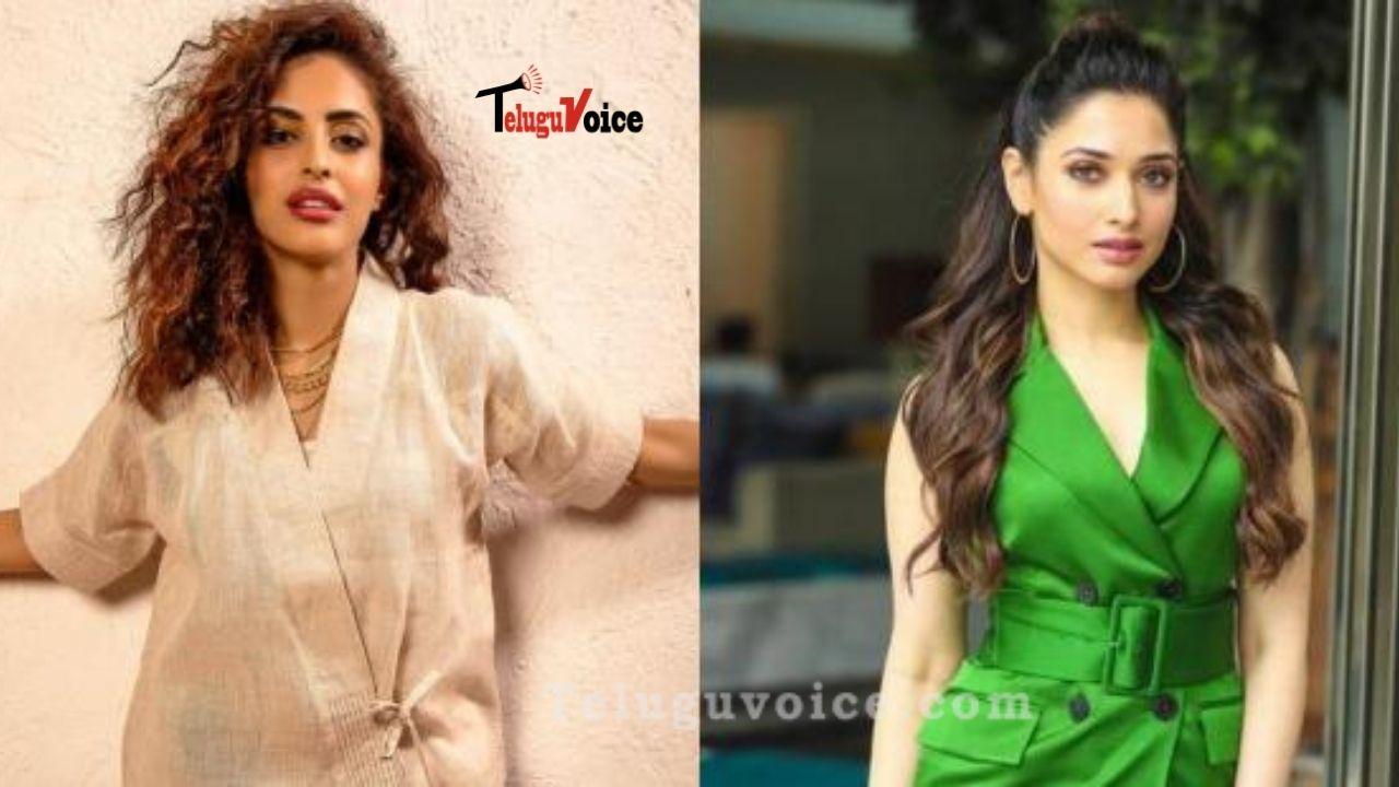 Priya Banerjee In Tamannaah's 8 Hours! teluguvoice