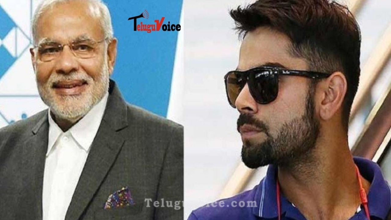 Virat Kohli Joins PM Modi In The List Of 'Most Admired Men'; 4 Indians Make Top 20 teluguvoice