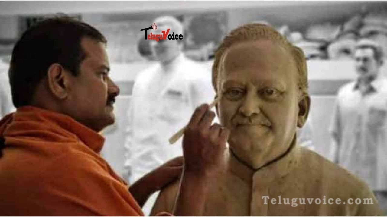 SPB Ordered Statue For Himself! teluguvoice