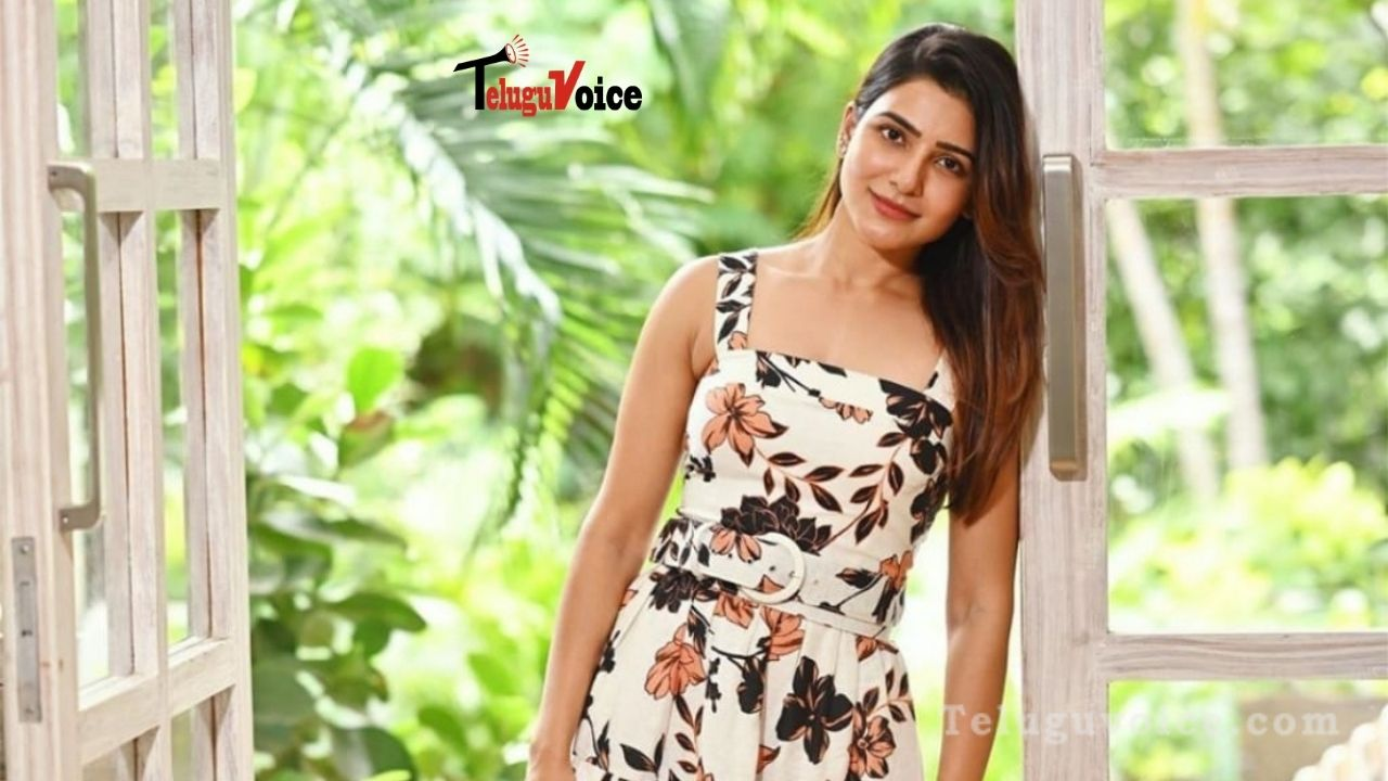 Samantha As A Physically Challenged Woman! teluguvoice