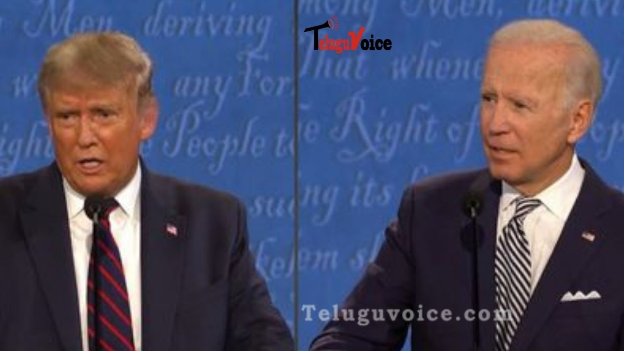 "US Presidential Debate 2020: Trump Admitted He Doesn't ""Want To Pay Tax teluguvoice"