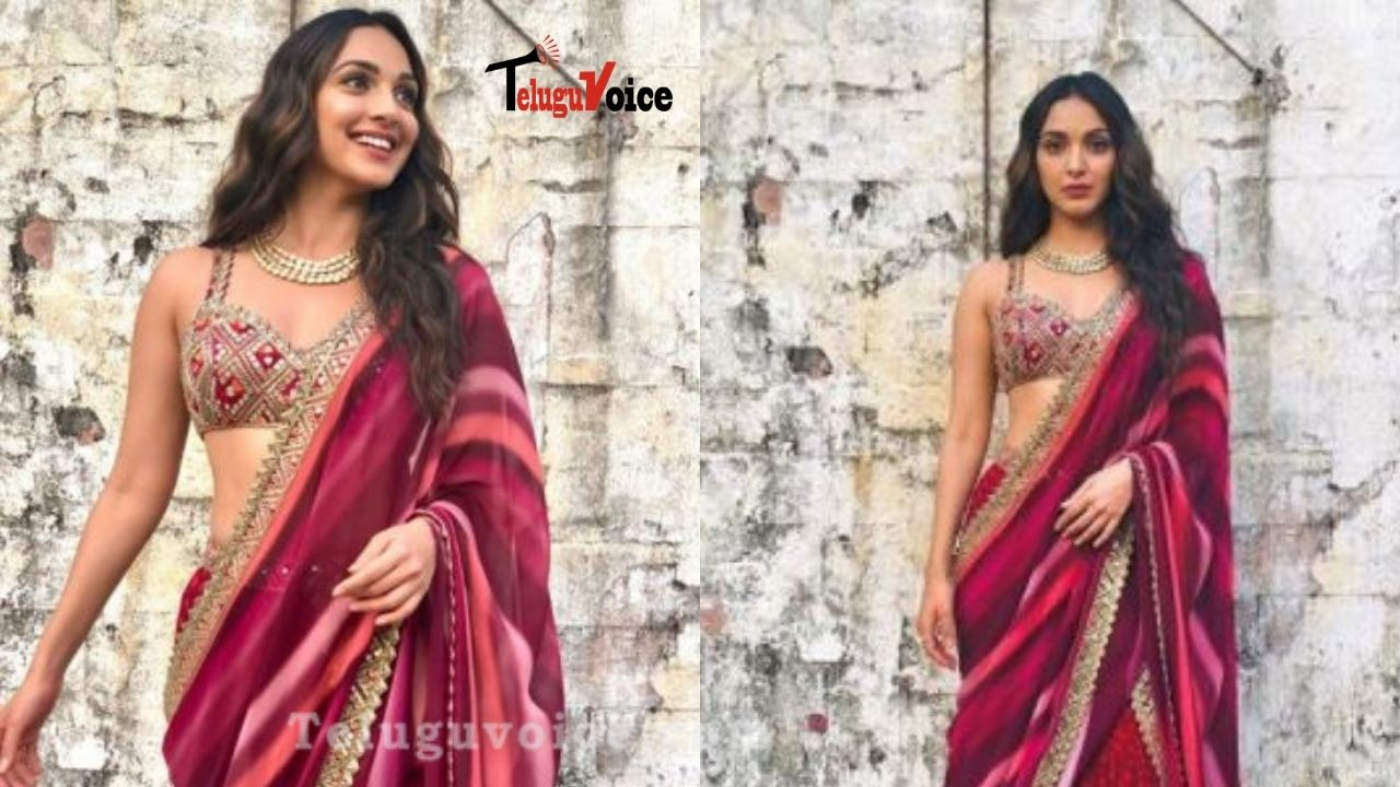 Pic talk: Kiara Advani Stunning In Ethnic Wear teluguvoice