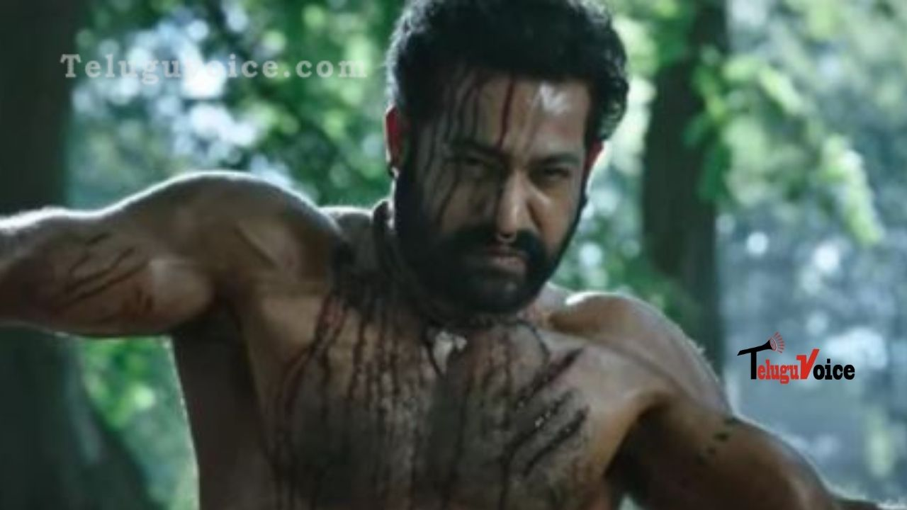 Finally RRR NTR's Promo Is Here As Komaram Bheem teluguvoice