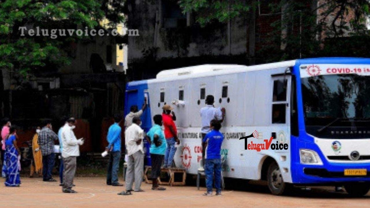 AP Reports 2,997 New COVID-19 Cases And 21 Deaths In Last 24 Hours teluguvoice
