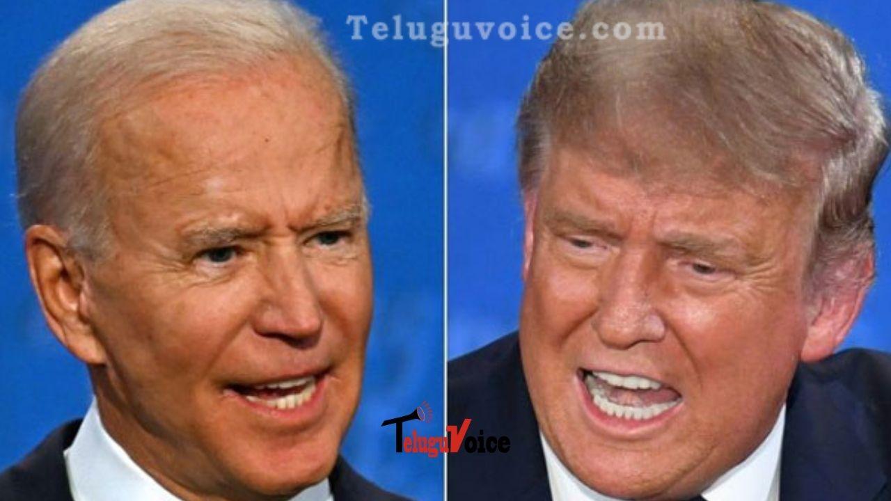 Donald Trump And Joe Biden In Final Full Week Of Campaigning As Virus Looms Large teluguvoice