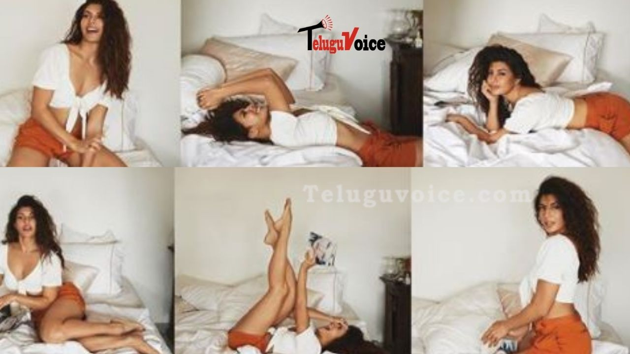 Pic Talk: Jacqueline Fernandez In Playful Mood teluguvoice