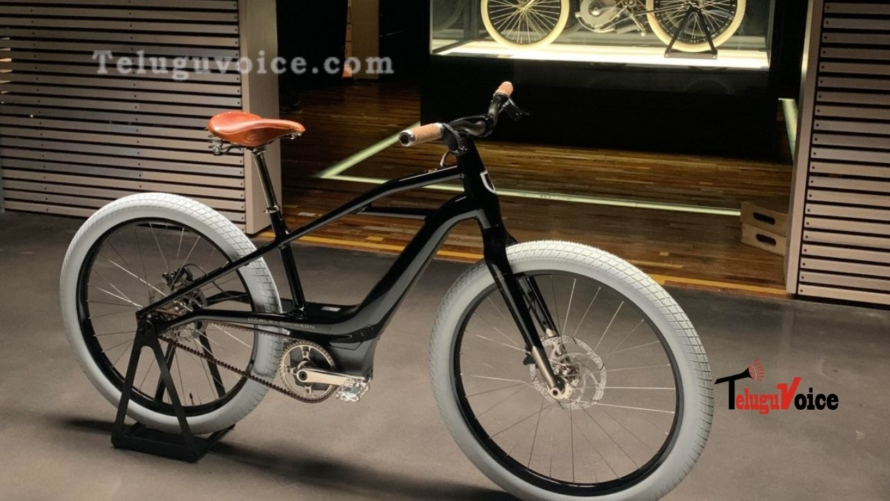 Harley-Davidson Presents Its First Electric Bicycle, The Serial 1 teluguvoice