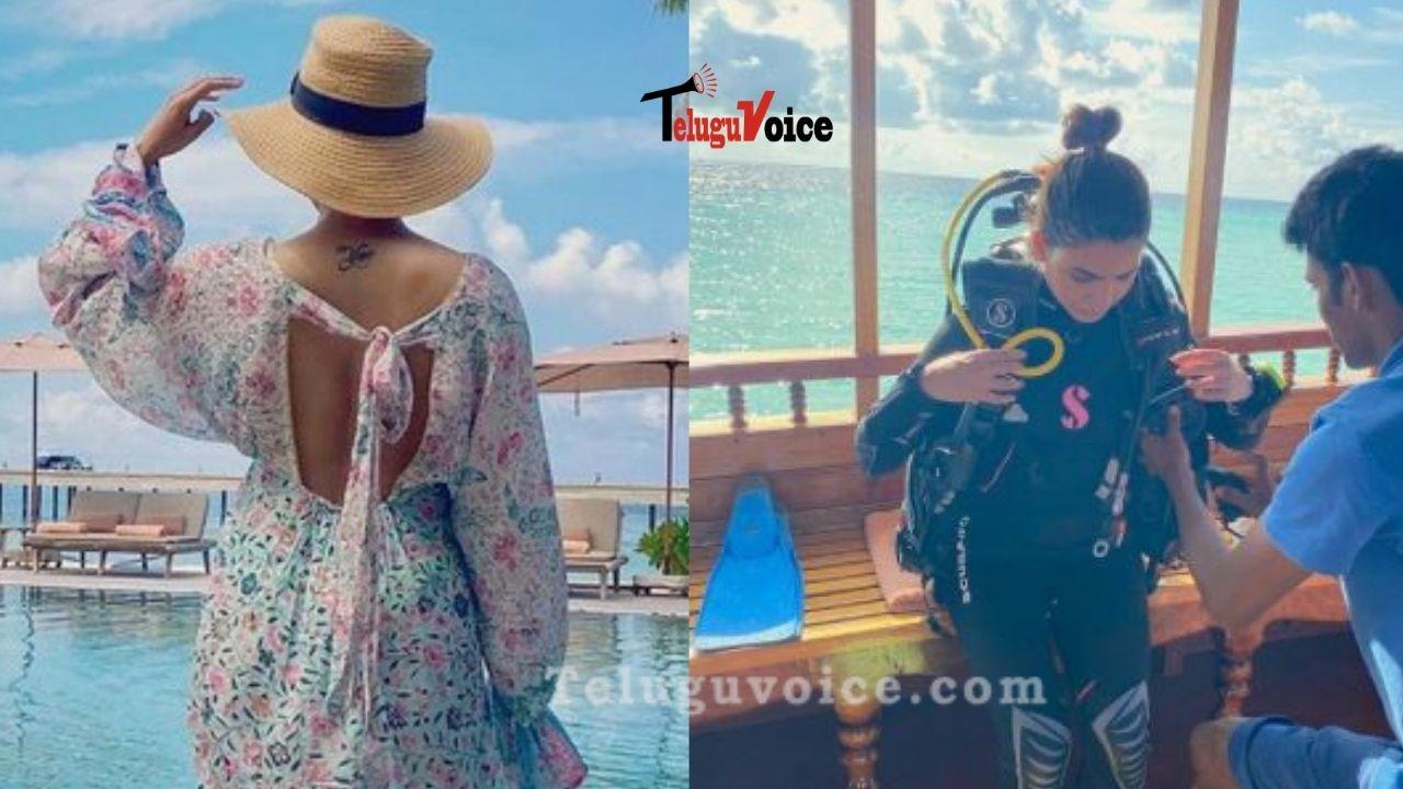 Chaitanya And Samantha Akkineni Jets Off To Maldives teluguvoice