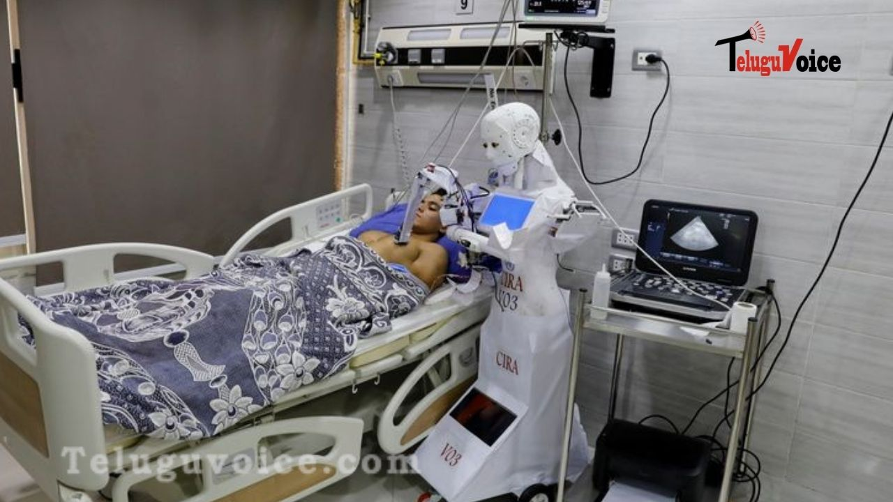 Now Robots Can Take COVID Test In Patients teluguvoice