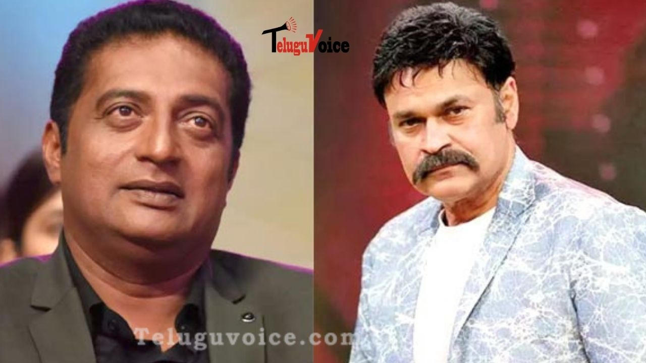 Naga Babu Reply For Prakash Raj's 'Chameleon' Comment teluguvoice