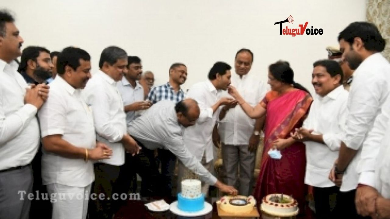 AP CM Jagan Mohan Reddy Turns 48, PM Modi Wishes Him teluguvoice