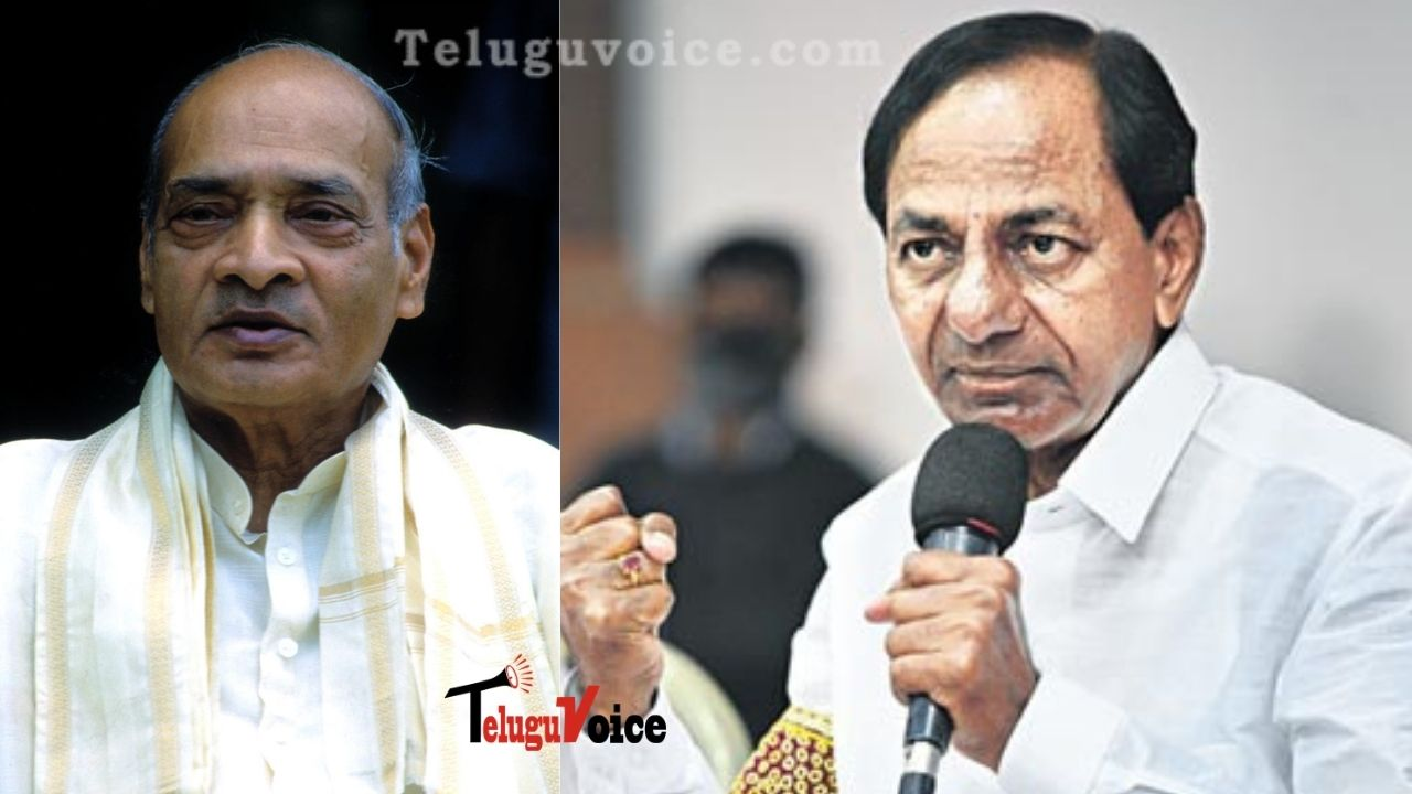 KCR And Other Leaders Remembers PV Narasimha Rao On Death Anniversary  teluguvoice