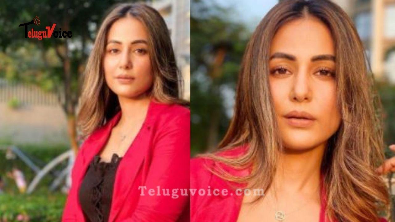 Hina Khan Looks Chic In These Stylish Clicks teluguvoice