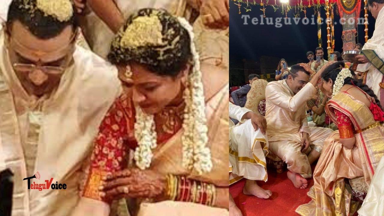 Singer Sunitha Got Married! teluguvoice