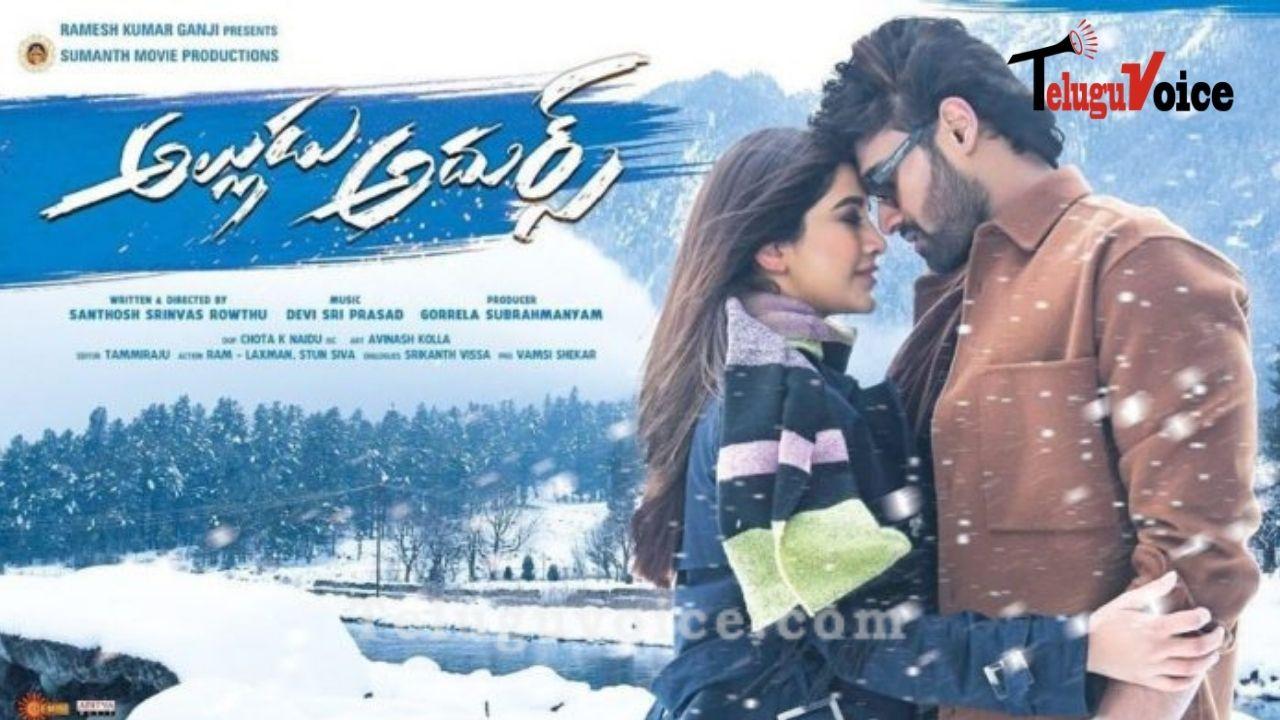 Alludu Adhurs Movie Review teluguvoice