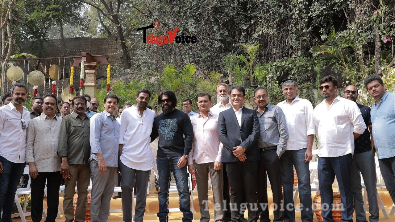 Prabhas' Salaar Launched teluguvoice