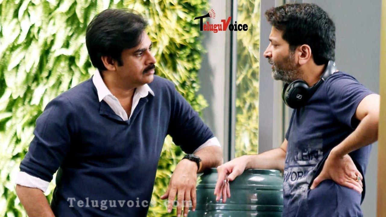 Trivikram Onboard For Pawan Kalyan' Film teluguvoice