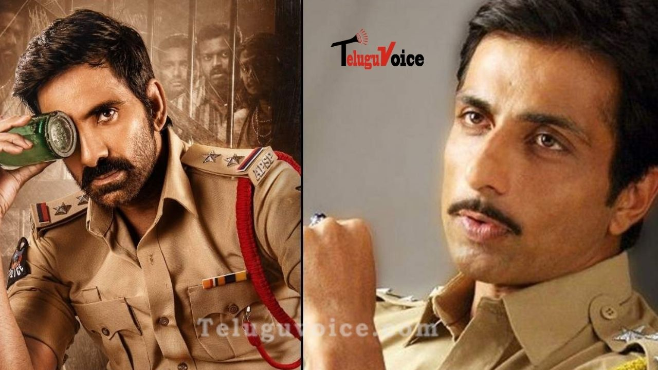 Sonu Sood To Step Into Ravi Teja Shoes? teluguvoice