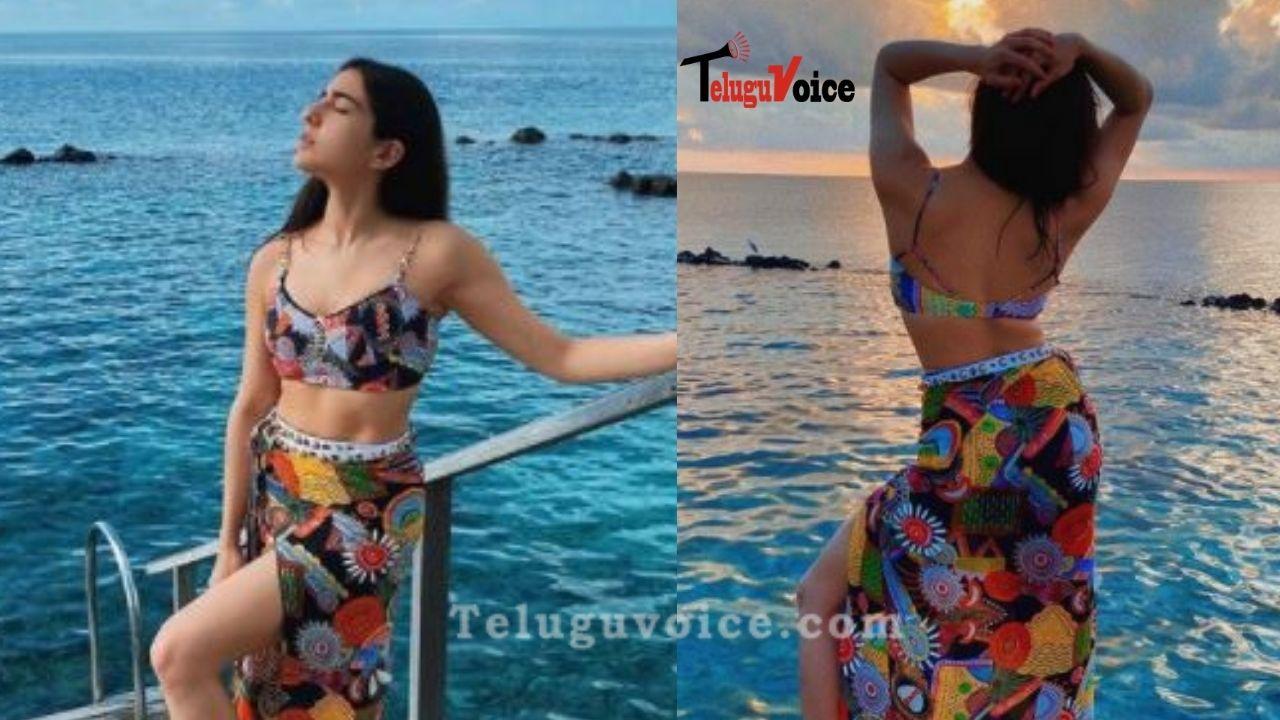 Pic Talk: Sara Ali Khan Stunning In Multi-Coloured Co-Ords teluguvoice