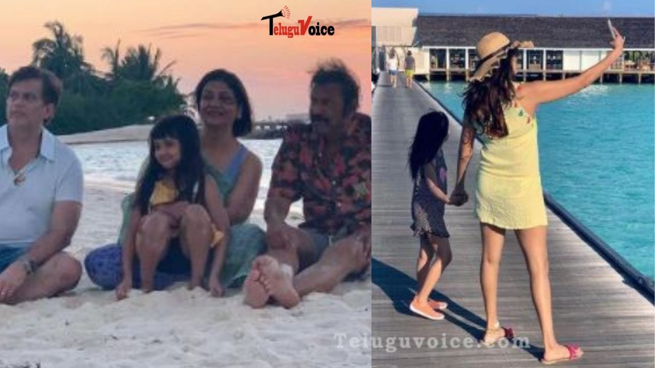 Manchu Family In Maldives teluguvoice