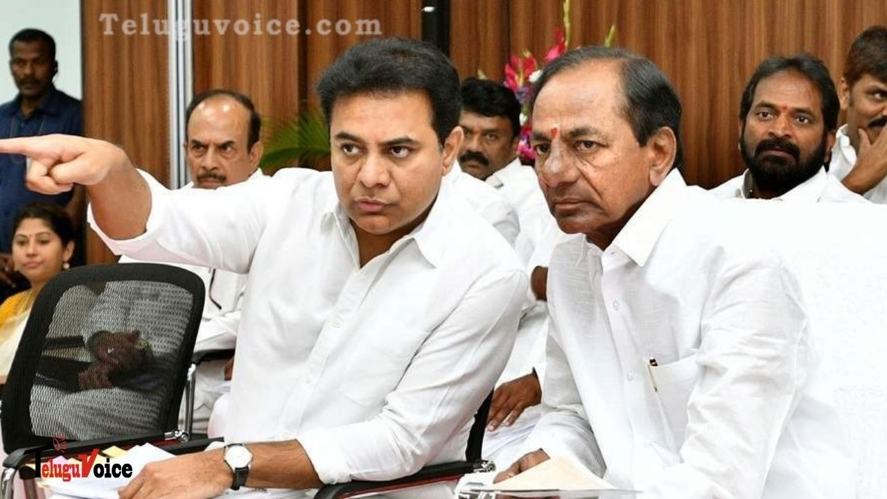 KTR Set To Replace Father KCR As Telangana CM Next Month? teluguvoice