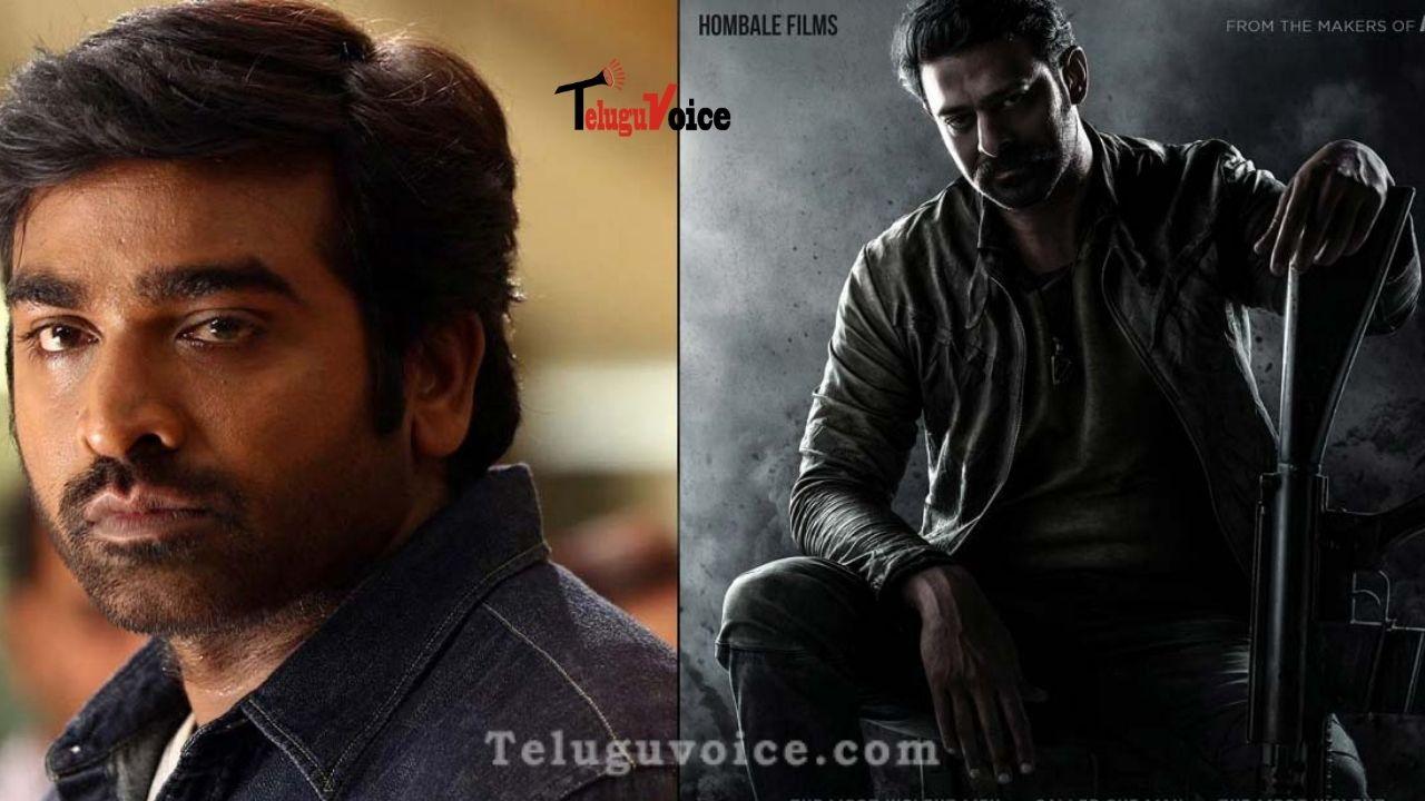 Vijay Sethupathi In Prabhas Starrer? teluguvoice