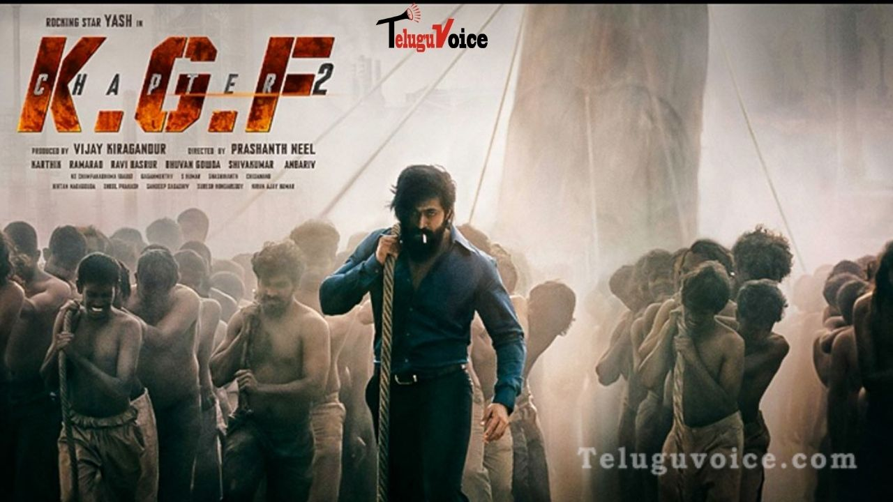 Yash Took A Hefty Paycheck For KGF: Chapter 2 teluguvoice