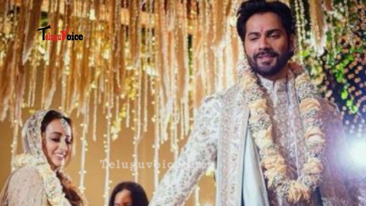 Varun Dhawan & Natasha Dalal Wedding Images teluguvoice