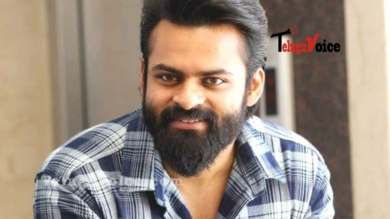 Sai Dharam Tej's Next Motion Poster Revealed teluguvoice