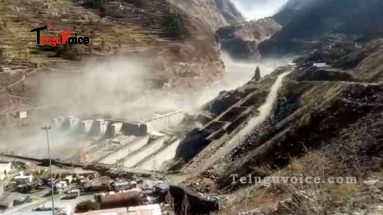 Death Toll Climbs To 10 In Uttarakhand Glacier Burst 150 Still Missing; Scientists To Leave For Disaster Site Today teluguvoice