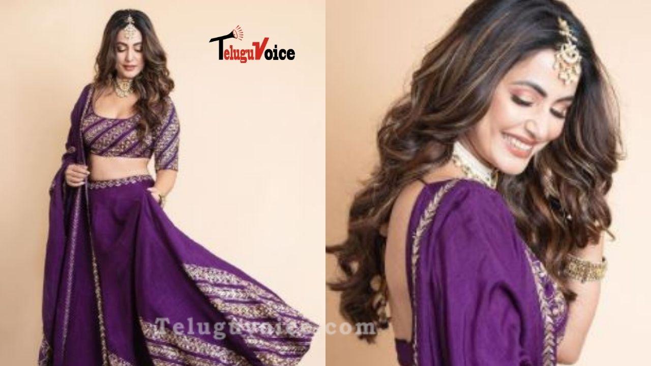Hina Khan Looks Ravishing In Indian Attire teluguvoice