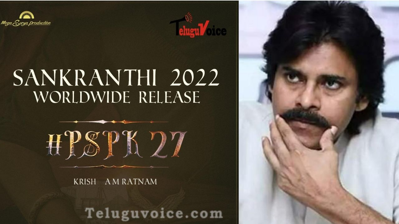 Power Star Pawan Kalyan's PSPK27 Finalizes It's Release Date teluguvoice