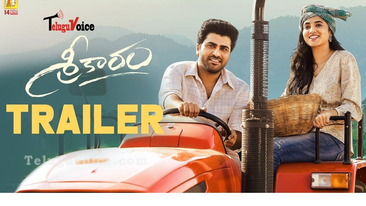 Sharwanand's Sreekaram Trailer Released!  teluguvoice