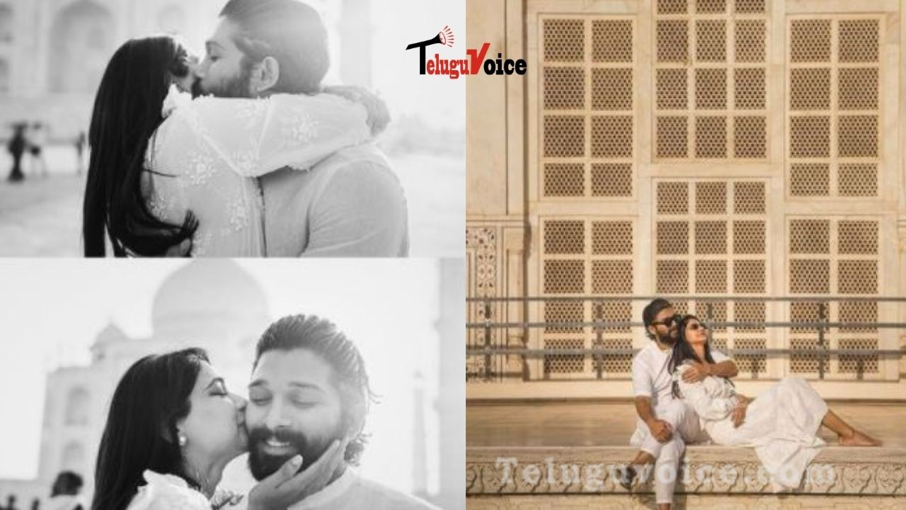 Allu Arjun Shares Pics Of His Wife On 10th Wedding Anniversary teluguvoice