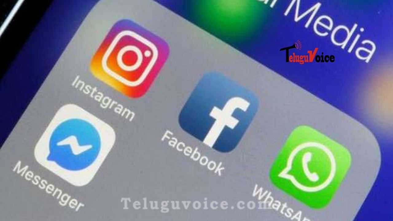Whatsapp, Facebook And Instagram Suffered An Outage In India And Worldwide teluguvoice