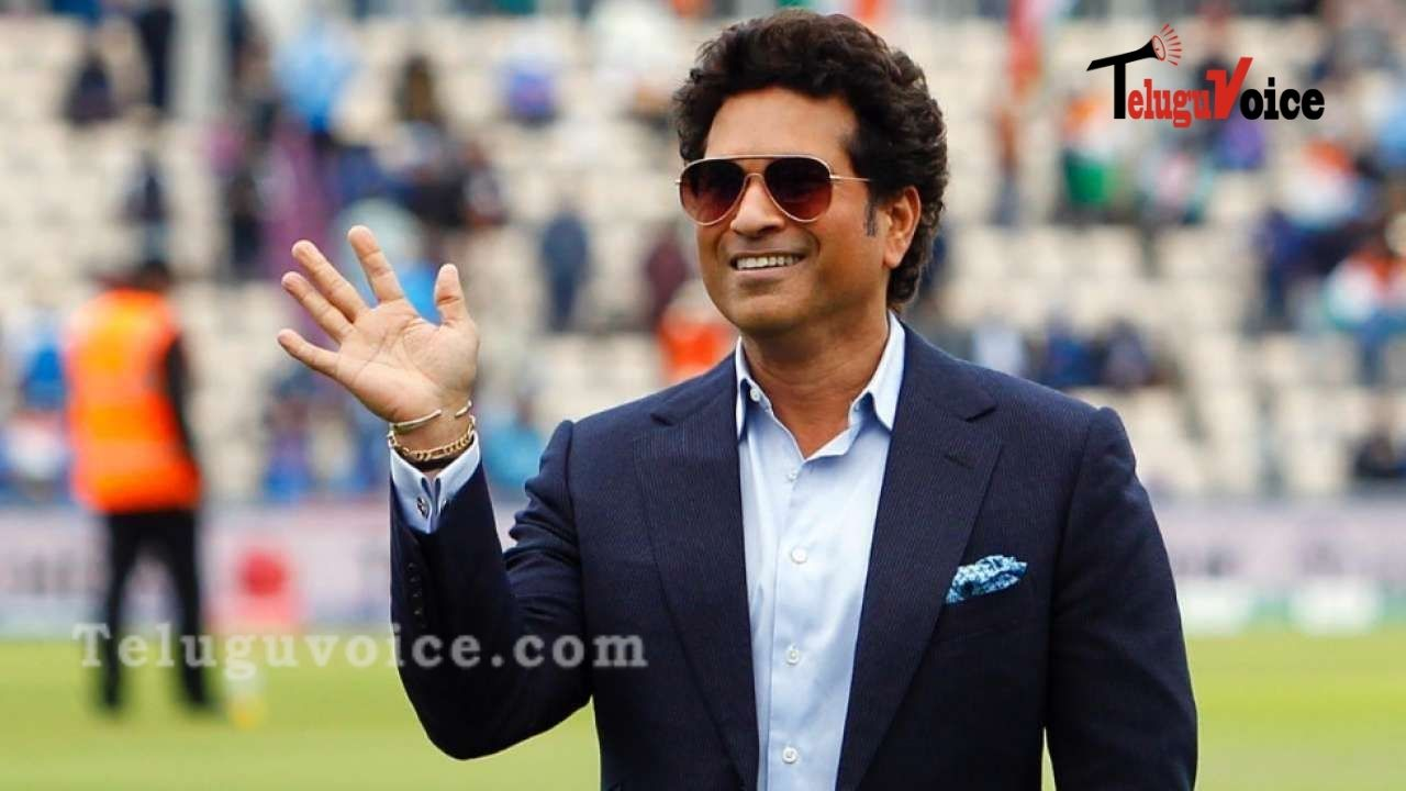Master Blaster Sachin Tendulkar Tests Positive For Covid 19 teluguvoice