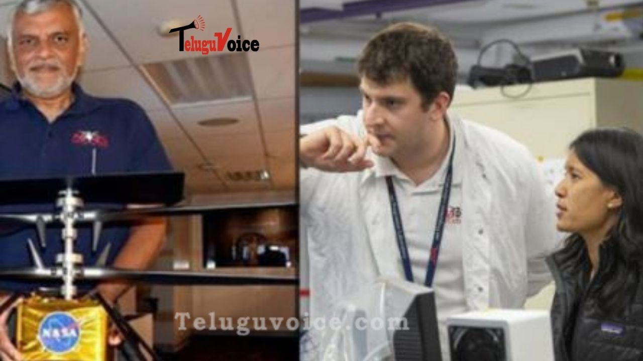 Meet IIT-Madras Alumnus, The Man Behind NASA's Ingenuity Mars Helicopter's Historic Flight teluguvoice