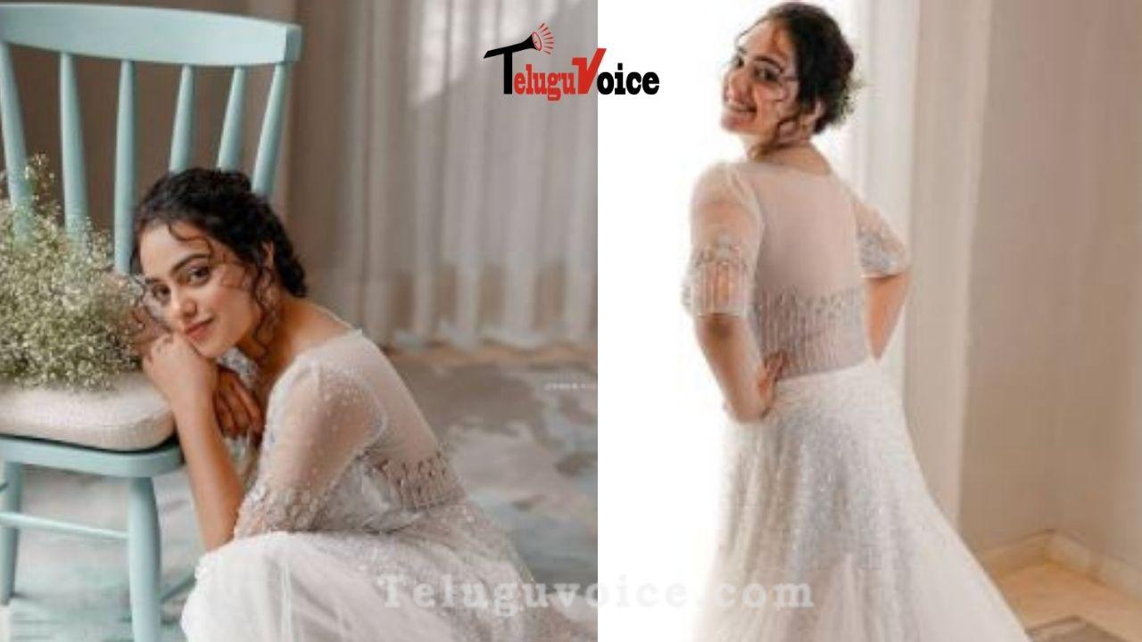 Pic Talk: Nithya Menen Princess Look  teluguvoice