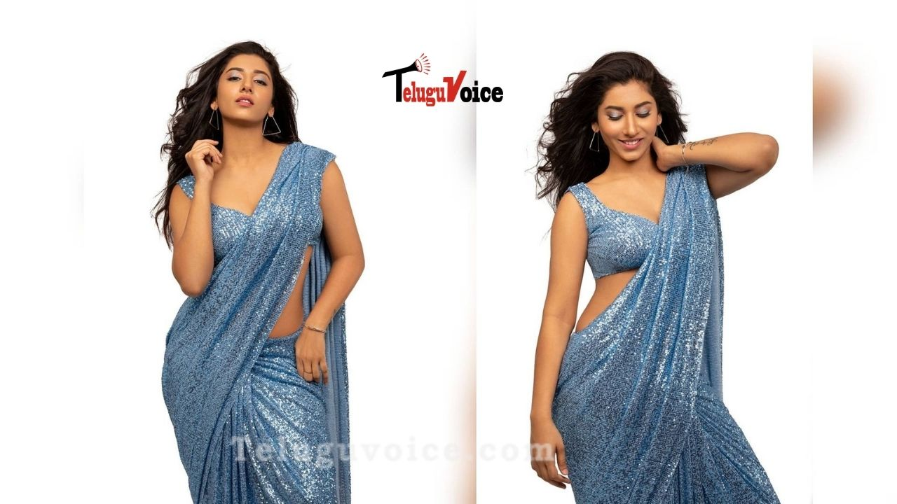 Young Host Raises Temperature With Her Sultry Photoshoot teluguvoice