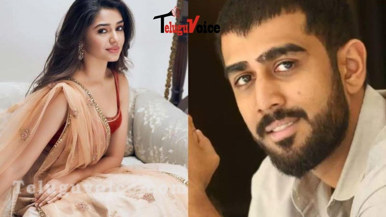 Rana Daagubati's Younger Brother With Uppena Girl teluguvoice