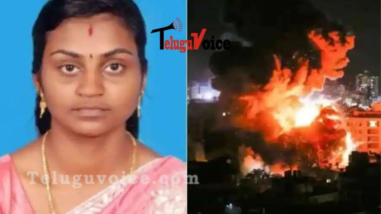 Indian Woman In Israel Killed In Rocket Attack teluguvoice
