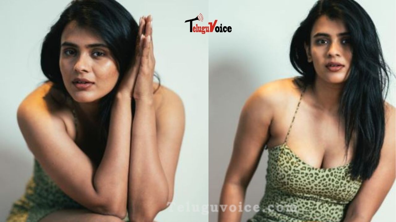 Hebah Patel Looks Hot In This Sultry Short Dress teluguvoice