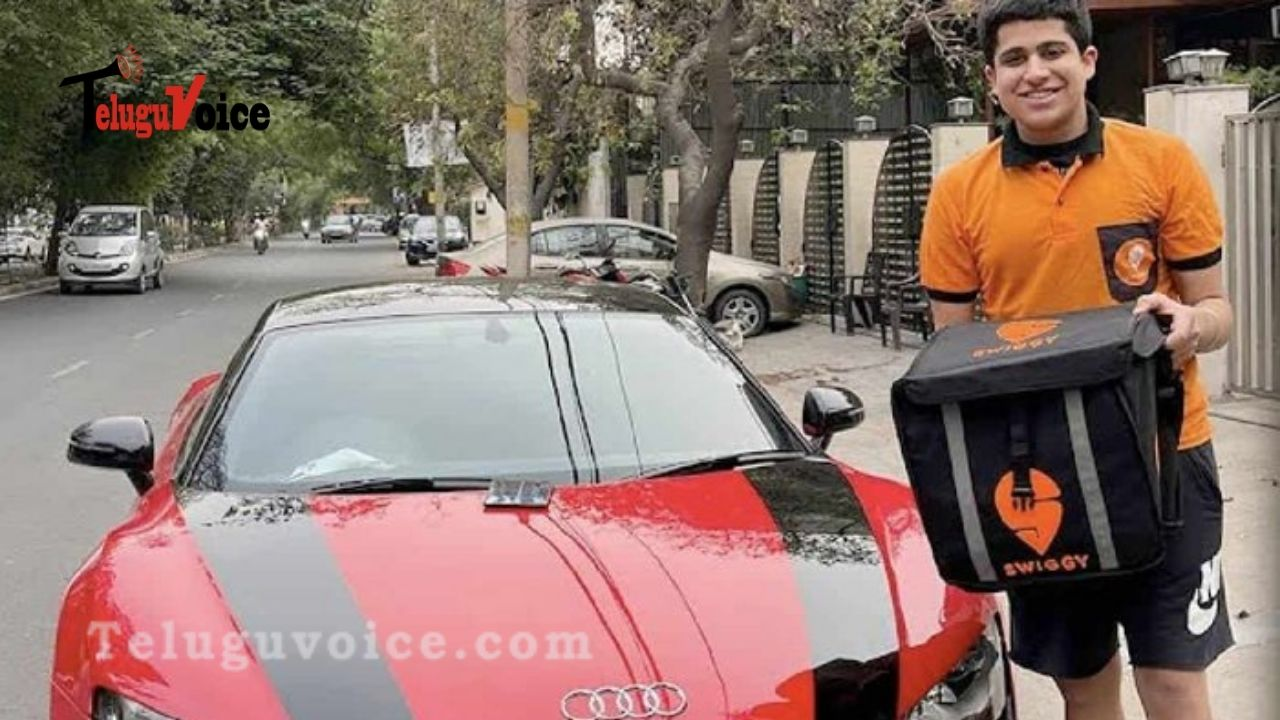 Audi R8 For Food Delivery teluguvoice
