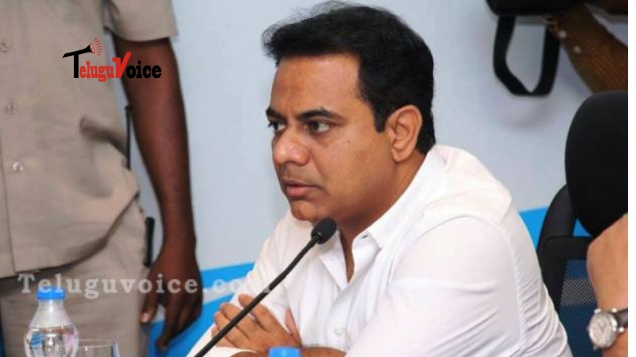 Non-Cooperation From Modi Govt For Skyways Projects In Hyderabad: KTR teluguvoice
