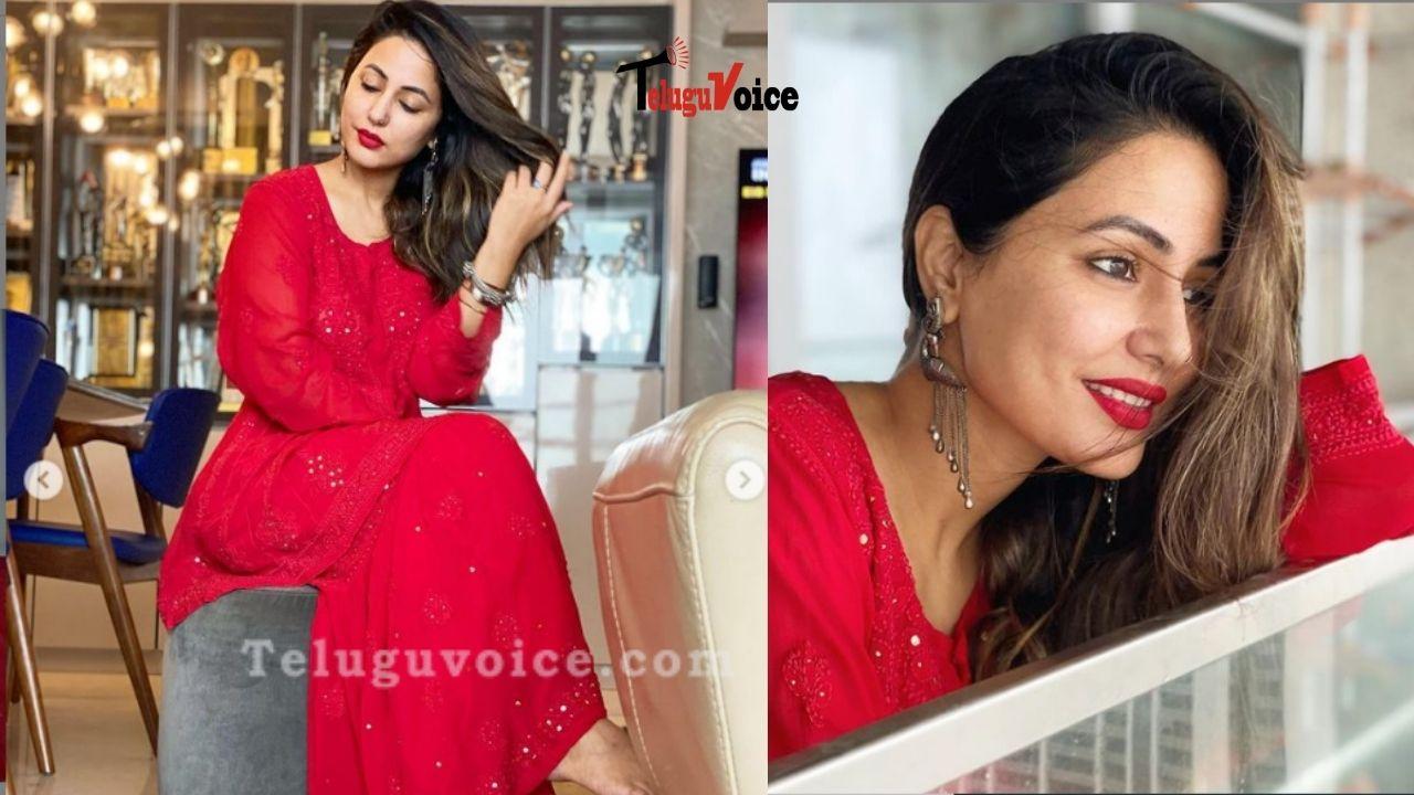 Festive Images Of Hina Khan teluguvoice