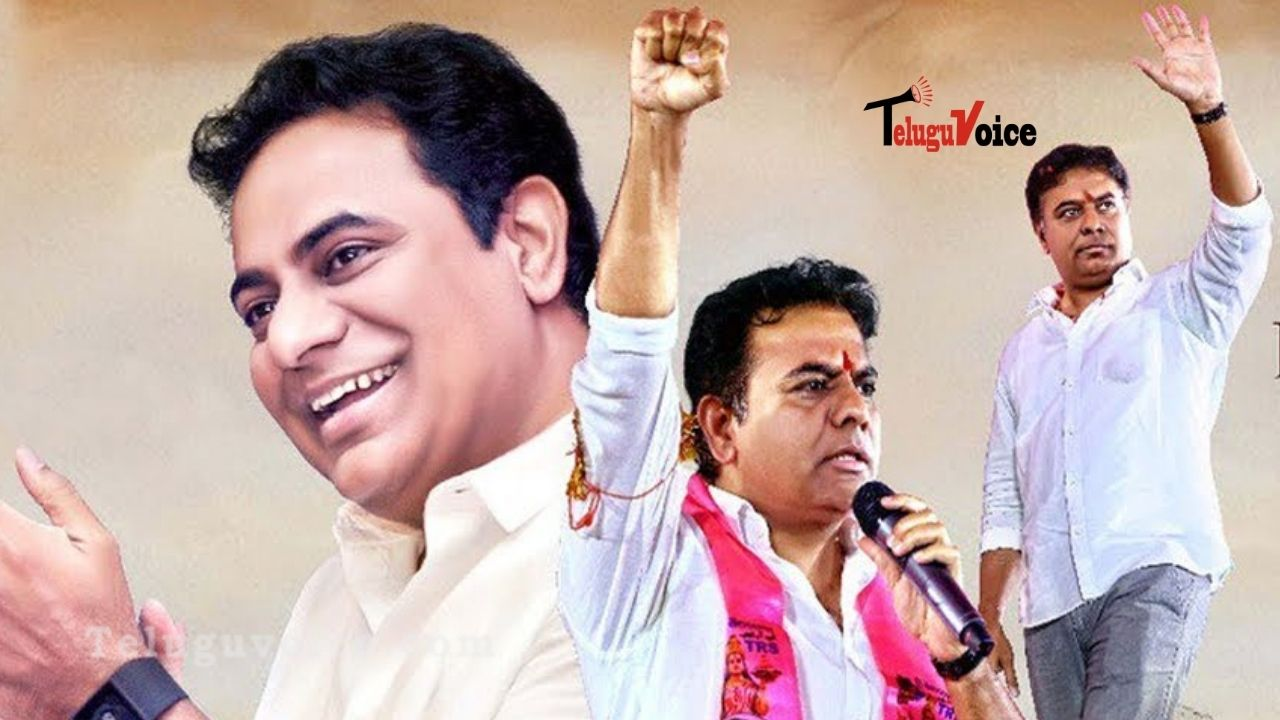 KTR Opted A New Look On His B'Day! teluguvoice
