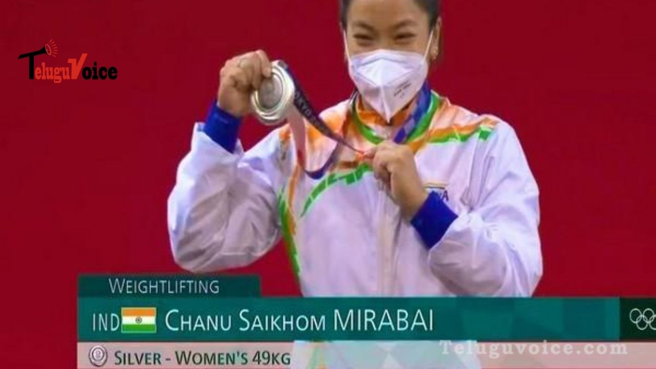 Indian Lady Bags First Medal In Tokyo 2020 Olympics teluguvoice